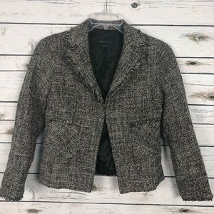 BCBGmaxazria medium lined tweed wool blazer jacket
